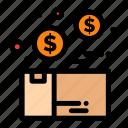 box, bundle, money, package, product
