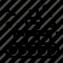 belt, conveyor, line, production icon