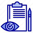 backlog, checklist, control, plan, quality icon