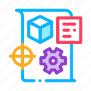 business, dispatch, idea, manager, product, technical, work icon