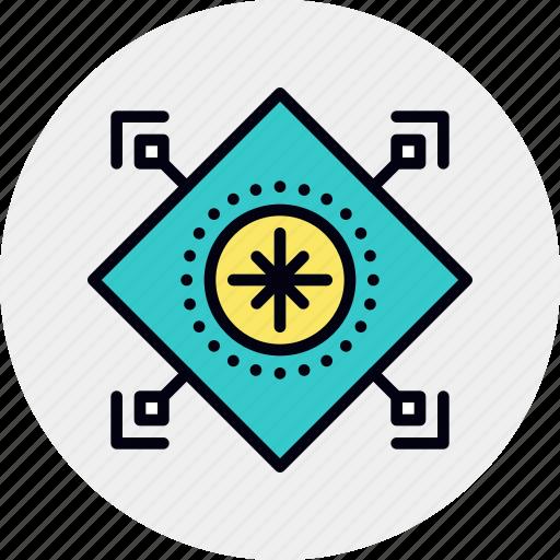 evaluation, vendor icon