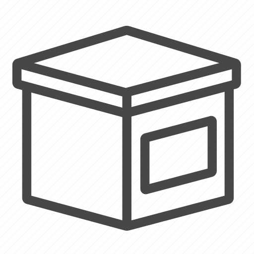 box, delivery, packaging, product, shipping icon