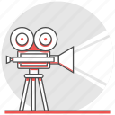 cinema, film, movie, production, projector, shooting icon