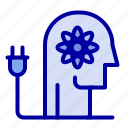 ability, boosting, knowledge, mind icon