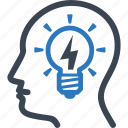 brainstorming, creativity, light bulb, business idea