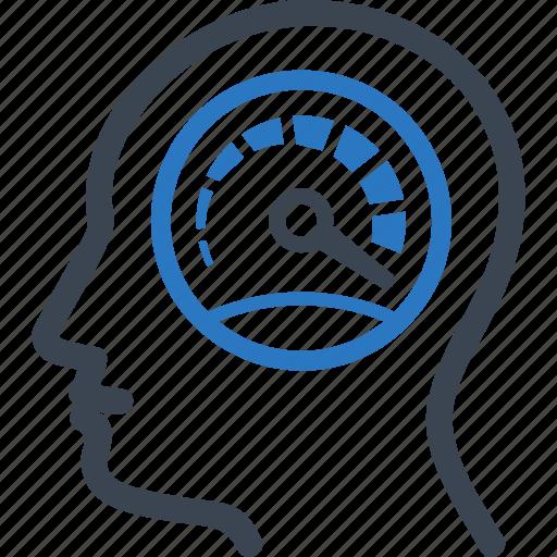 productivity, speed, speedometer, work performance icon