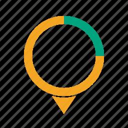 evaluation, math, mathematics, monitoring, percentage, stats icon