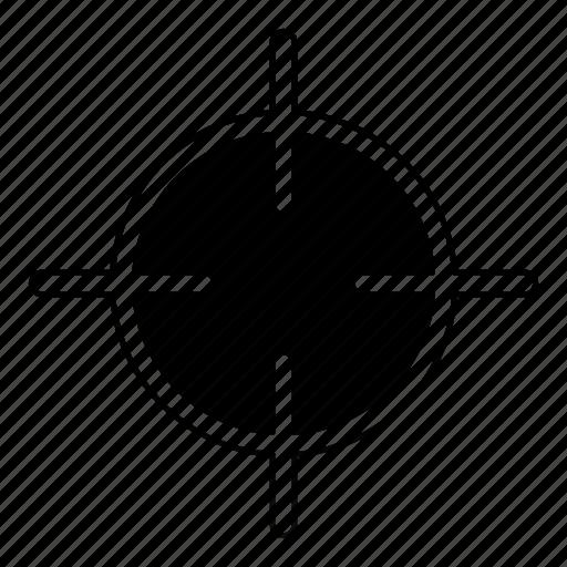 aim, bullseye, goal, seo, sniper, target icon