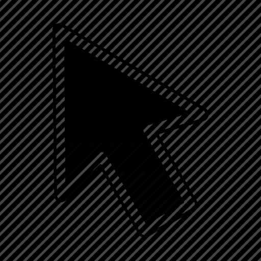 arrow, click, cursor, direction, mose icon