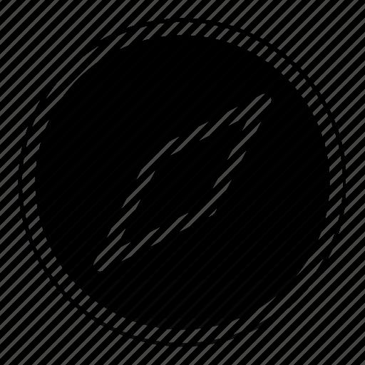 compass, geometry, location icon
