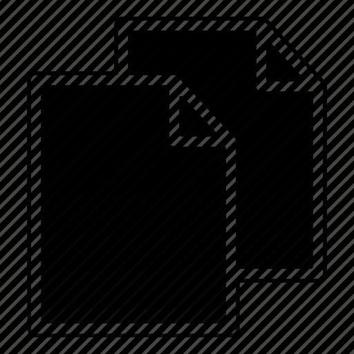 copy, data, documents, duplicate, paste icon