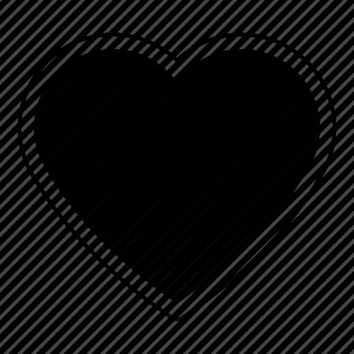 favorite, heart, love, valentine icon