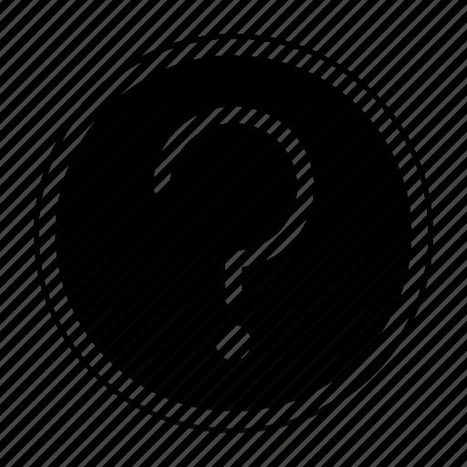faq, help, information, question icon
