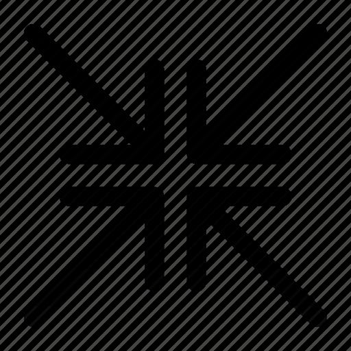 fullscreen, minimise, minimize, resize icon