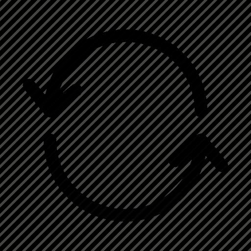 loop, refresh, sync icon