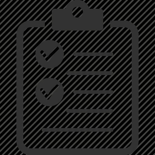 Check Mark Checklist Tasks To Do List Icon