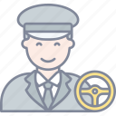 driver, car, profession, avatar
