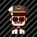 aeronaut, avatar, pilot icon