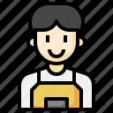 clerk, shop, assistant, professions, jobs, profiles, avatar