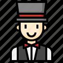 magician, jobs, profession, show, male