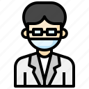 scientist, profession, job, doctor, mask
