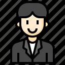 teacher, suit, man, male, business