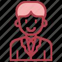 businessman, man, user, people, profile