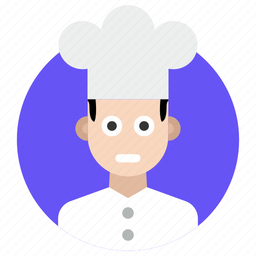 baker, chef, kitchener, professional cook, professional person icon