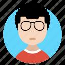 avatar, boy, gentleman, man, masculine, teenage icon