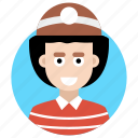 adventurer, avatar, camping person, explorer, wanderer icon