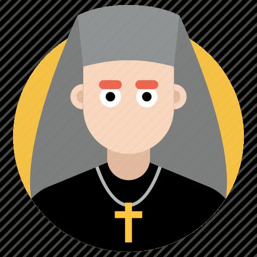 abbess, christian mother, christian nanny, nun, prioress, sister, vestal icon