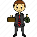 boy, business, company, man, manager, money, proffesions