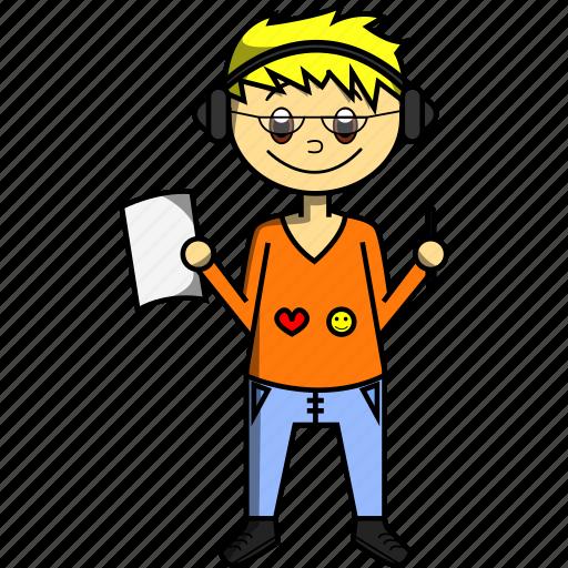 Boy, design, designer, man, pc, proffesions, sketch icon - Download on Iconfinder