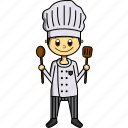 boy, chef, delicious, food, man, proffesions, restaurant