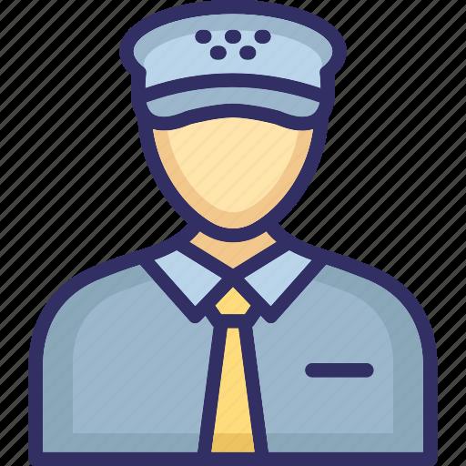 army captain, army major, captain, pilot, police officer icon