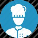 avatar, chef, cook, male, restaurant icon
