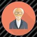 avatar, oldman, professional, professor, teacher