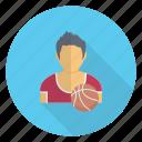 avatar, male, player, professional, sportsman