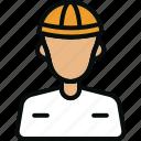 architect, avatar, developer, engineer, men, user icon