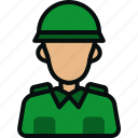 army, avatar, helmet, man, military, retro, soldier