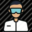 avatar, chemical, doctor, einstein, laboratory, professor, scientist icon