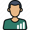 analystr, avatar, chart, marketing, men, statistician, statistics icon