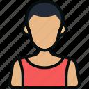 avatar, basketball, fitness, person, shirt, sports, sportsman icon