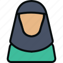 arabic women, hijab, islam, language, pray, rabic, religion icon