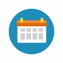 appointment, calendar, date, deadline, month, schedule, timetable icon