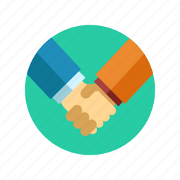 agreement, business, contract, deal, hand icon