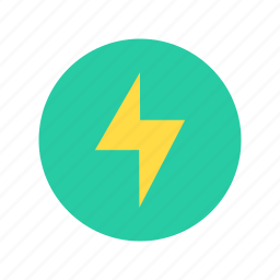 electrical, electricity, energy, light, lightning icon