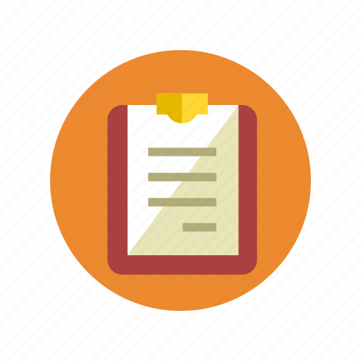 clipboard, document, documents, list, page, report, text icon