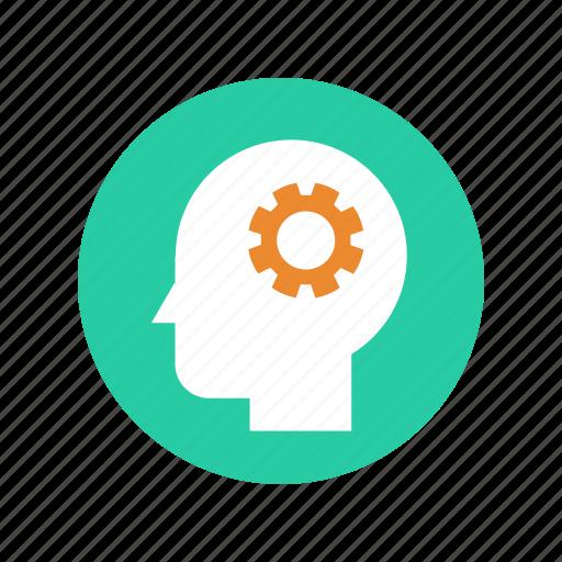 brain, brainstorm, head, idea, mind, think, thinking icon