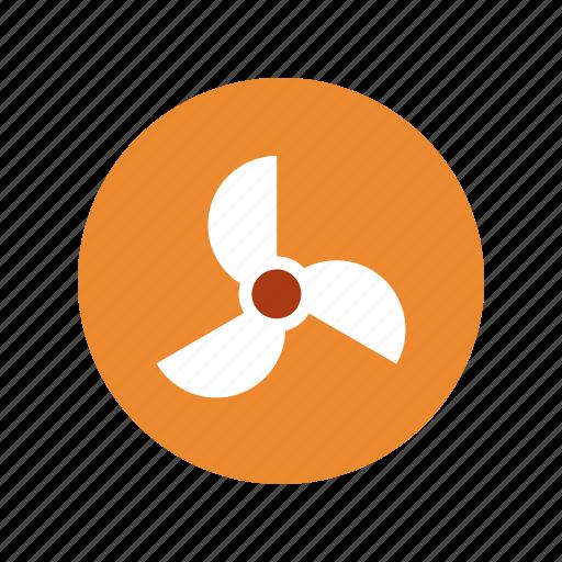 energy, power, turbine, wind icon